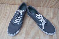 Womens Grey Vans Size 9.5 Shoes