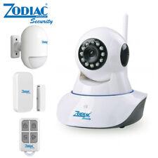 TELECAMERA ALLARME WIFI IP CAM 2MPX ZODIAC + SENSORE PIR + P/F + TELECOMANDO VID