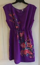 Purple I Love H81 Dress-medium