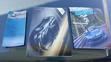 10 2010 MAZDA 3 OWNERS MANUAL GUIDE BOOK SET & CASE with PAMPHLET & BROCHURE