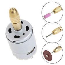 New Mini Mirco Electric PCB Motor Drill Press Drilling Bits Tool Twist Drill 12V