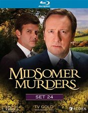 MIDSOMER MURDERS SET 24 New Sealed Blu-ray