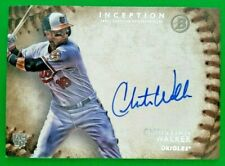 CHRISTIAN WALKER 2015 Bowman Inception AUTO On-card Rookie RC RA-CW