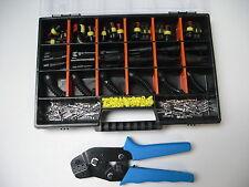 15 x AMP Superseal Stecker Set 2+3-polig Gummitüllen 2+3-polig Crimpzange  Box