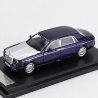 1/64 ROLLS ROYCE PHAMTON VII DIECAST CAR DISPLAY MODEL RARE COLLECTION Blue