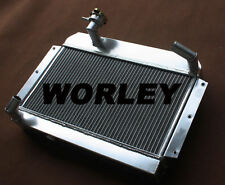 56 mm Aluminum Radiator for ROVER / MG MGA 1500 / 1600 / 1622 / DE-LUXE Manual