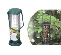 Hanging Bird Feeder Seed Nut Peanut Garden Feeding Station Plastic/Metal 1,2,4pc