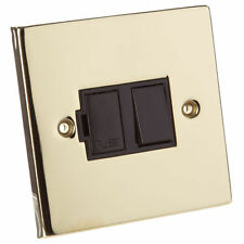 Polished Brass Single Light Switche Home Electrical Fittings