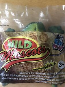 Wendy's Wild Mascots Kids Meal Toy 2005 Frog # 27 Sealed NIP