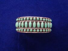 Zuni cuff Sleeping Beauty Turquoise L James and S/S Vintage