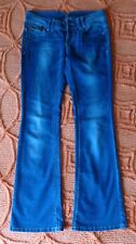 Jane Norman Mid Blue Bootcut Jeans. Size 32W 33L