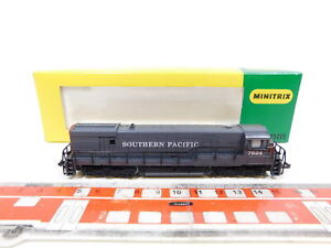 CG120-0,5# Minitrix Spur N/DC USA-Diesellok 7924 Southern Pacific/SP NEUW+OVP