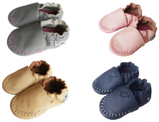 Boy Girl Baby Shoes Infant Toddler Jinwood Moccasin Crib Soft Sole Booties 0-2Y