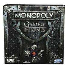 Game of Thrones Monopoly Board Game Eng. Genuine GOT Tokens Iron Throne Musical