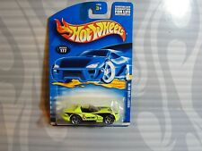 2001 HOT WHEELS  collector #177 = DODGE VIPER RT/10 = NEON YELLOW  , 0910