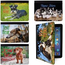 Perro Personalizado Funda Cubierta De Mascotas Personalizado inicial iPad Apple iPad Todos Los Modelos