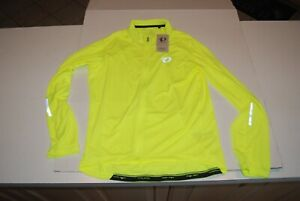 Pearl Izumi Shirt Mens Select Pursuit LS Jersey Size XLarge NWT Screaming Yellow