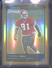 2006 Bowman Chrome Gold Refractor Rookie #56 Tamba Hali No 27 of 50