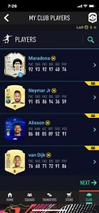 fifa 21 ultimate team ps4 lots of good players and sbc fodders