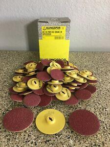 "Klingspor QDC Sanding Disc (100 2"" Discs & 3 3"" Discs) ""All New"""