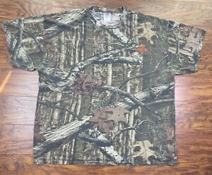 mossy oak break up infinity t shirt 2X camo F3