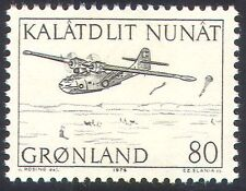 Greenland 1971 Plane/Mail/Aircraft/Parachute/Aviation/Postal Transport 1v n23528