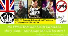 GTA IV: Complete Edition  Steam key NOVPN RegionFree UKSeller