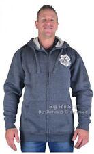 Big Mens Denim Blue Kam Custom Hoodie 2XL 3XL 4XL 5XL 6XL 7XL 8XL