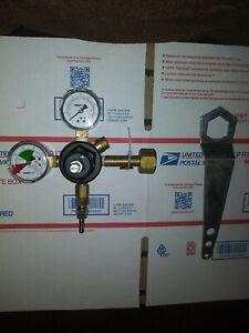 Taprite Co2 Regulator 0-160  Soda/Beer Systems