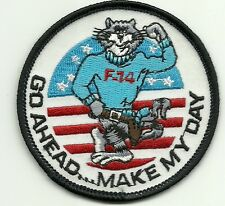 Navy Tomcat F-14 Go Ahead Make My Day PATCH e