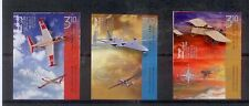 ISRAEL STAMPS 2014 AIRCRAFT AVIATION  TAB SET  IMPERFORATE M.N.H.  ◄