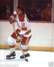 TOM LYSIAK Photo in action Atlanta Flames 1976 (c)