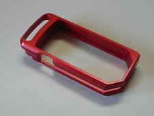 DUCATI DIAVEL zündschlüssel chassis KEY COVER CNC alluminio anodizzati Rosso Nuovo!