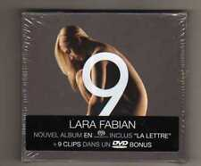 LARA FABIAN - 9 - CD+DVD LIMITED EDITION - SIGILLATO - sealed mint