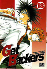 GET BACKERS    MANGA  N° 18   PIKA  EDITION