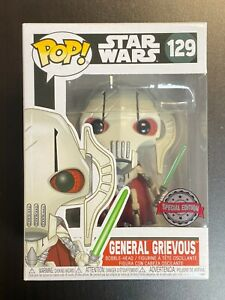 FUNKO POP STAR WARS GENERAL GRIEVOUS SPECIAL EDITION EXCLUSIVE *MINT*