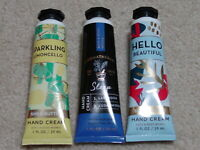 BATH & BODY WORKS HAND CREAM SHEA BUTTER & AROMATHERAPY NEW CHOOSE ONE DISCOUNTS
