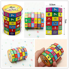 Mathematics Magic Cube Toy time table Game Children Kids Math Educational toy
