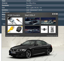 BMW ISTA+ Dealer Level Access Diagnostic Programming Software with  K-DCan Cable