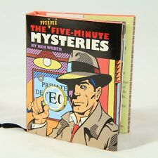 """""""The Mini Five Minute Mysteries"""" by Ken Weber, 2004, Magnifying Glass & Bookmark"""