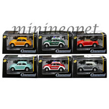 CARARAMA 711ND-021A VW VOLKSWAGEN BEETLE ASSORTMEN 1/72 6 CARS SET
