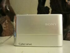 Sony Cyber-shot DSC-T70 8.1MP Digital Camera - Silver