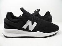 New Balance Men's 247 Classic Sneaker Black/White Size 9.5