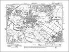 Old map of Chorlton cum Hardy, Didsbury (NW), Lancs 1908: 111NW repro
