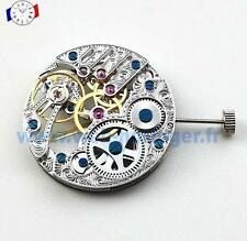 Mouvement de montre Seagull base Unitas 6498 squelette Mechanical watch movement