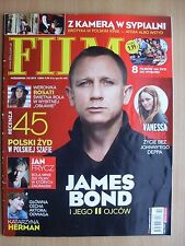 DANIEL CRAIG on front cover Polish Magazine FILM 10/2012 in. Vanessa Paradis