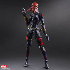 Marvel Comics Variant Play Arts Kai Action Figure Black Widow 26 cm DAMAGED PACK
