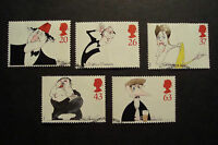GB 1998 Commemorative Stamps~Comedians~Fine Used Set~UK Seller