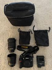 Nikon D D7000 16.2Mp Digital Slr Camera - Black (Kit w/ Af-S Dx Ed Vr.