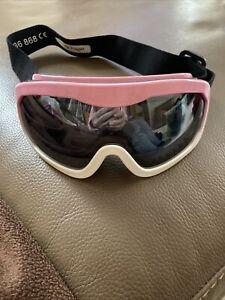 Girls Pink Ski Googles